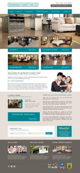 Hopkins Carpet One Website