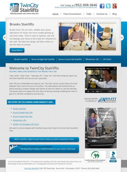 webdesign-webdrafter-twin-city-stairlifts