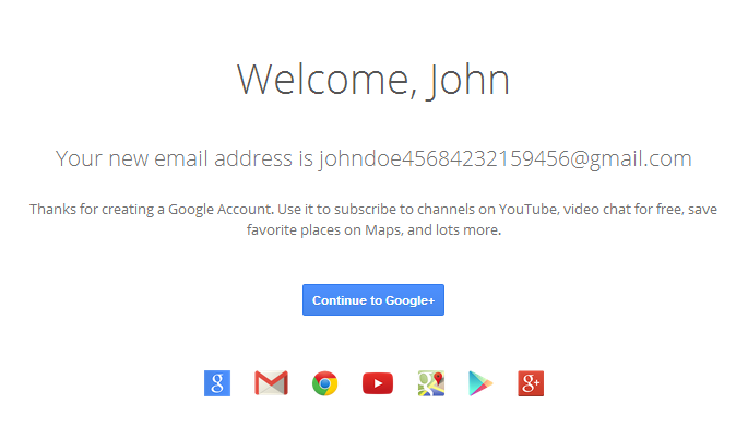 how to create a new google play account