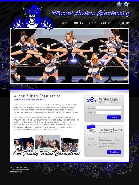 Wildcat Allstars Cheerleading Website