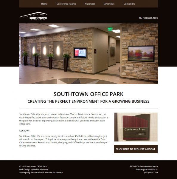 Southtown Office Park Website