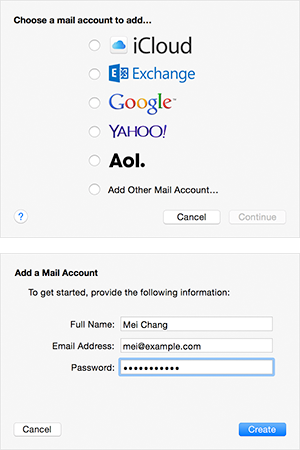 Outlook Automatic Setup