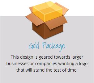 Gold Logo Design Package