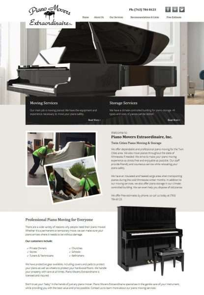 Piano Movers Extraordinaire