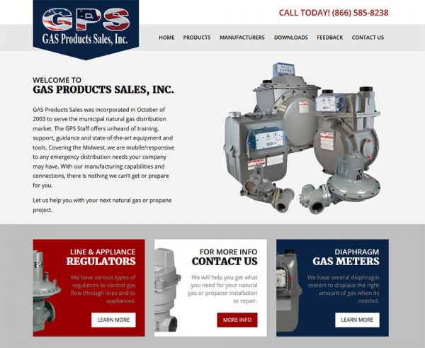 Gas Products Sales